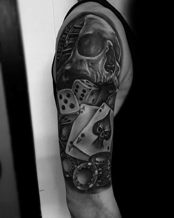 Amazing Poker Tattoos That Will Show Your Love For Gambling