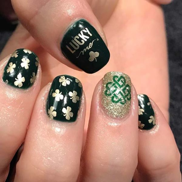 Green St. Patricks Day Nails Designs That Will Amaze You