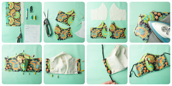 How To Make Fabric Face Masks And Protect Yourselves And The