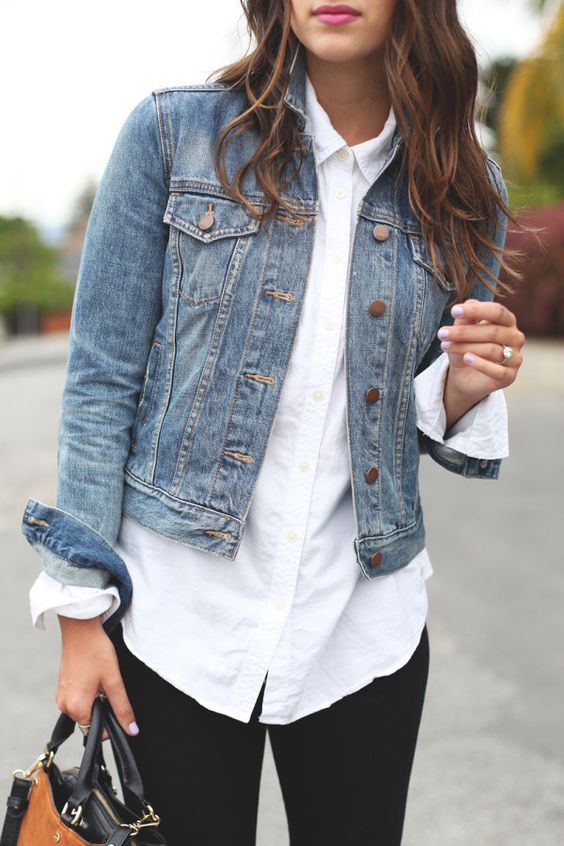 Cute Denim Jacket Outfits That Are Perfect For This Spring