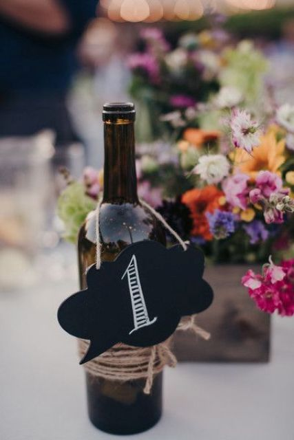 Wonderful DIY Wedding Table Numbers That That You Can Do At Home During The Coronavirus Lockdown