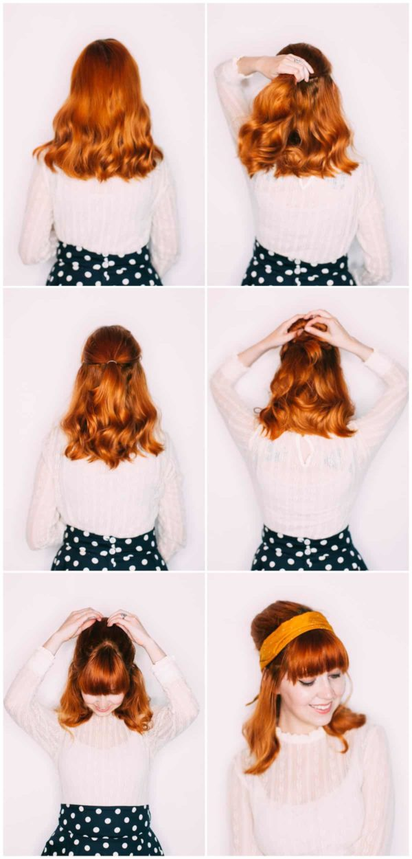 Step By Step Headband Hairstyle Tutorials That You Should Try This Spring