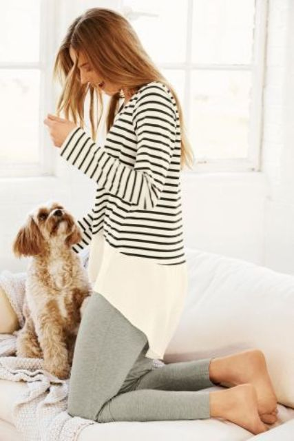 Comfy Home Outfit Ideas That Will Make The Coronavirus Quarantine More Enjoyable