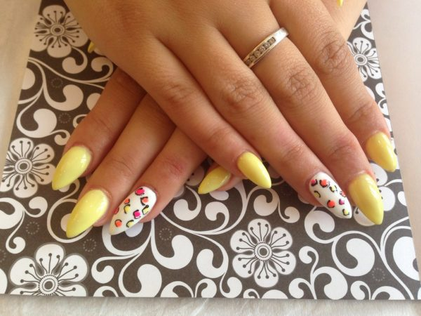 DIY Manicure With Acrylic Nails