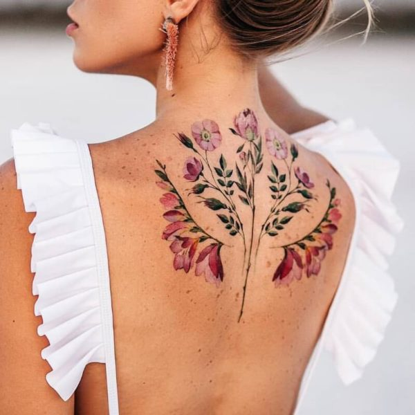 Spring Tattoo Designs That Will Get You Longing For Your Next Tattoo When The Coronavirus Is Over