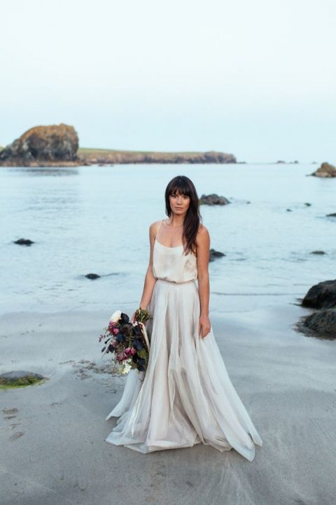 Gorgeous Two Pieces Wedding Dresses That Will Help You Get A Unique Bridal Look