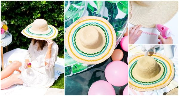 Fabulous DIY Summer Hats That You Can Make At Home
