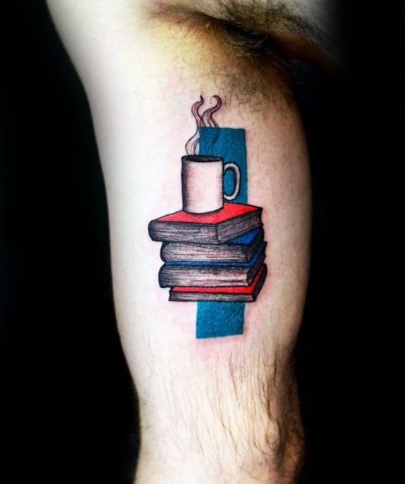 Lovely Coffee Tattoos That Will Celebrate Your Caffeine Addiction