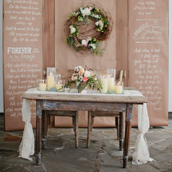 Rustic Wedding Decorations That Will Make You Feel The Vintage Vibe