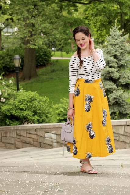 Fresh Fruit Print Outfits That Will Make You Look Super Fashionable This Summer