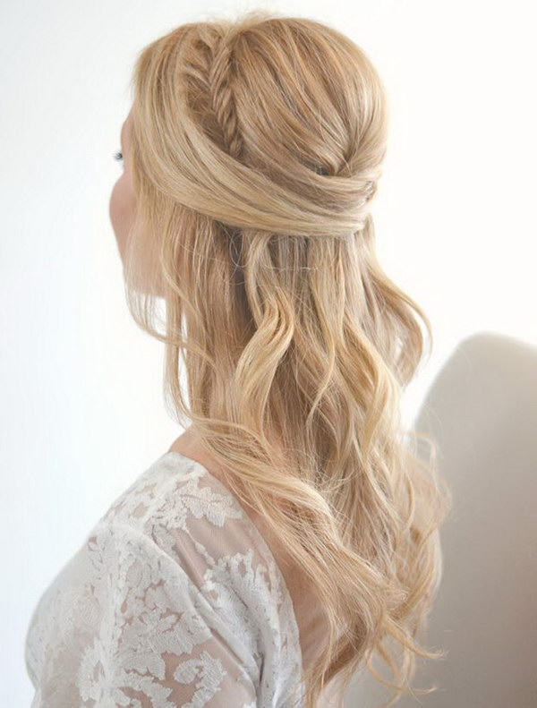 Half Up Half Down Hairstyles That Are Really Charming And Romantic