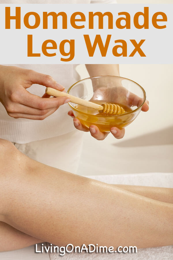 Homemade Leg Wax Recipes That Are Super Efficient