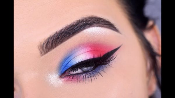 Patriotic Makeup Ideas That Will Put You In The Festive Mood For 4 July
