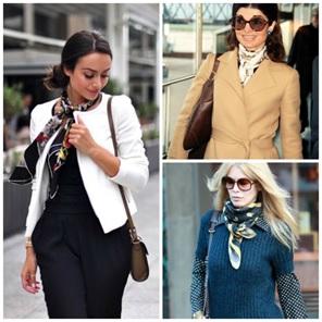 5 Ways You Can Wear a Silk Scarf