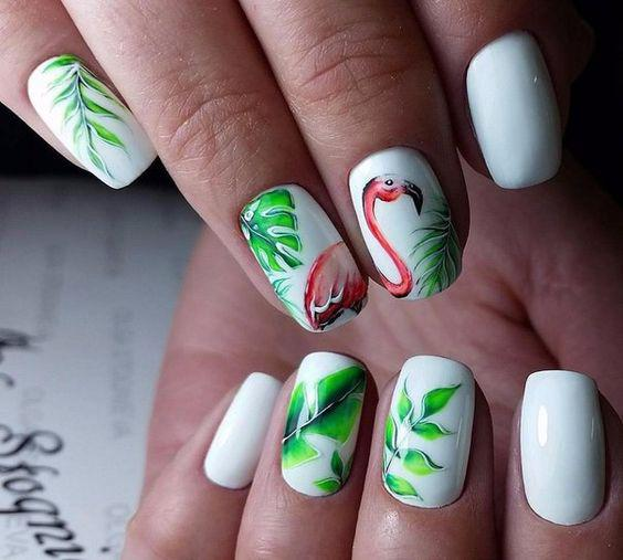 Tropical Nails Designs That Are Must For The Summer