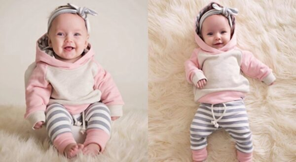 How to Dress a Newborn Baby Girl During Winters