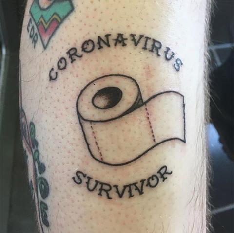 Popular Coronavirus Tattoos That Label 2020