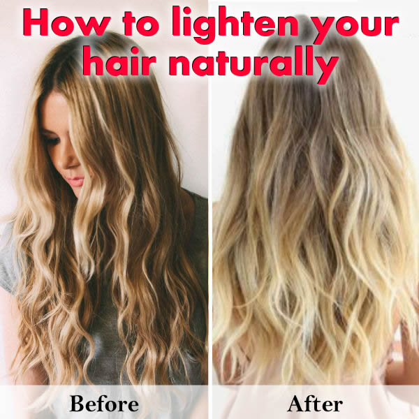 Excellent Ways To Lighten Hair Naturally In The Sun