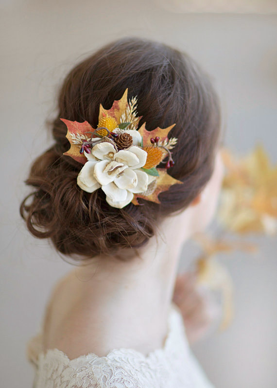 Amazing Bridal Hairstyles That Are Perfect For Fall