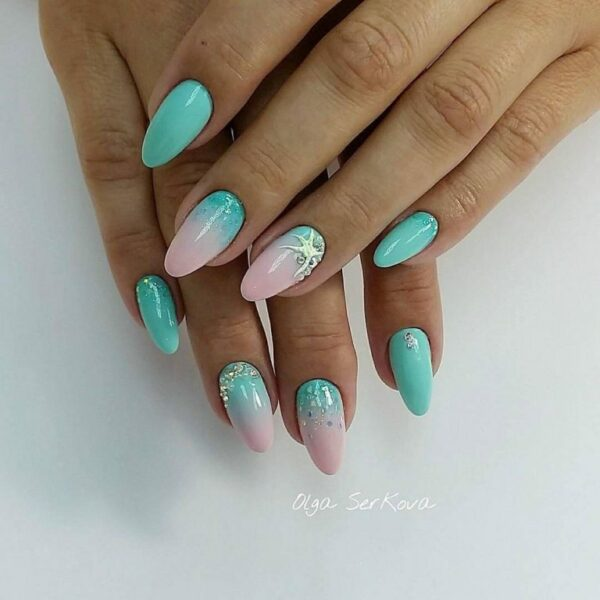 Beautiful Sea Manicure Ideas That Scream Summer