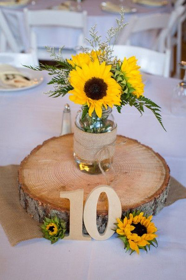 Sunflower Wedding Decorations That Will Make Your Jaws Drop