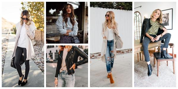 fall essential clothing