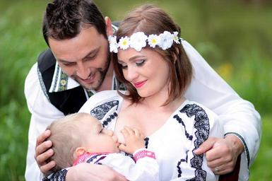 wedding with a child