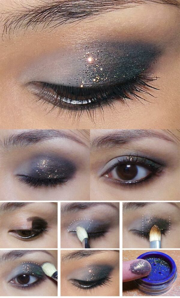 Glitter Makeup Tutorials That Will Make You Look Fabulous On Your Formal Occasions