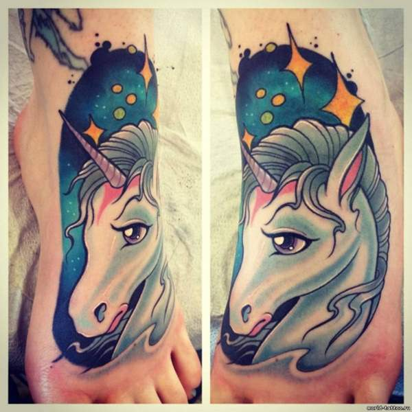Magical Unicorn Tattoos That Will Take You To A Different World