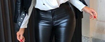 leather pants fall outfits