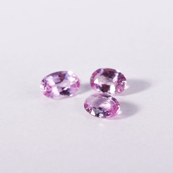 Discover the magic of unconventional pink sapphires