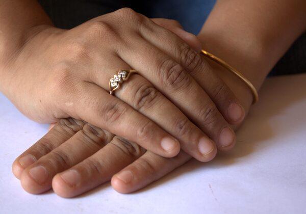fashionable engagement ring
