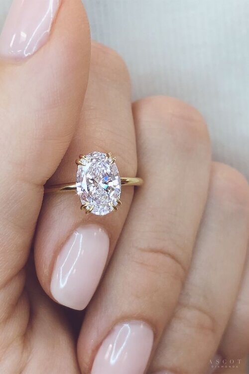 Best Engagement Manicure To Complement Your Wedding Ring