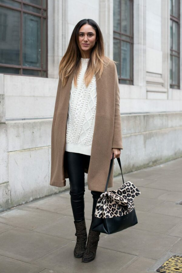 White Winter Outfit To Stand Out Of The Crowd This Winter