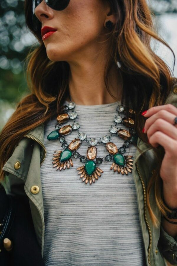How To Wear Statement Necklace: The Must Follow Fashion Guide