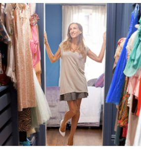 spring closet cleaning