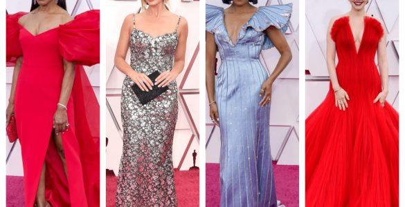 best-dresses celebrities oscars 2021